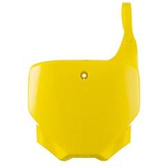 Number Plate CRF 230F Pro Tork Amarelo