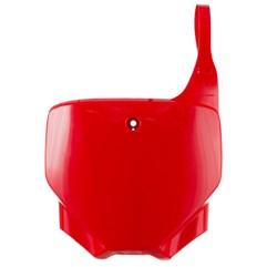 Number Plate CRF 230F Pro Tork Vermelho