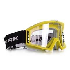 Óculos Motocross Protork Iron Amarelo