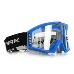 Óculos Motocross Protork Iron Azul