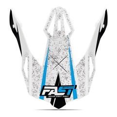 Pala Capacete Pro Tork Fast 788 Skull Azul