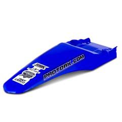 Paralama Traseiro MX2 Azul + Lanterna Traseira Pro Tork