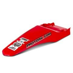 Paralama Traseiro Universal MX2 Vermelho + Bag De Ferramenta Pro Tork