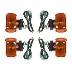 Pisca NXR Bros 125/150/XR 200/XLR 125 4 Unidades Pro Tork