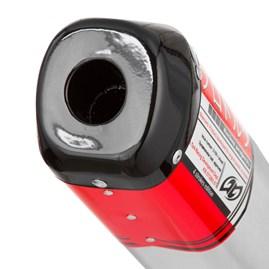 Ponteira V-PRO Compativel C/ CBX 250 Twister (Escape inteiro) (vai abraçadeira)