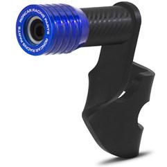 Protetor De Motor Slider Alumínio NXR Bros 150 2009/NXR Bros 160 2016 Super Adventure