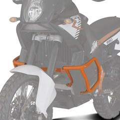 Protetor Motor Carenagem Super Adventure KTM 990 2010 Laranja