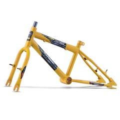 Quadro Em Aço Carbono Ultra Bike Aro 16 Com Garfo