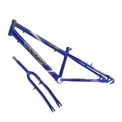 Quadro Em Aço Carbono Ultra Bike Aro 24 Com Garfo Rebaixado