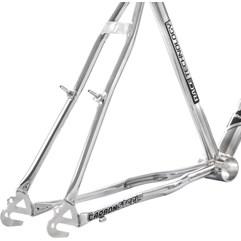 Quadro Em Aço Carbono Ultra Bike Aro 26 Com Garfo Masculino Chrome Line