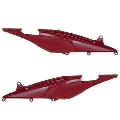 Rabeta Completa CB 300R 2010 Até 2012 Vermelho Pro Tork
