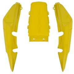Rabeta Completa Titan 150 2004 Até 2008 Amarelo Pro Tork