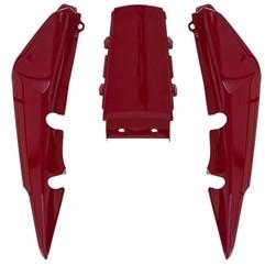 Rabeta Completa Titan 150 2006 Até 2008 Vermelho Pro Tork