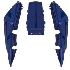 Rabeta Completa Titan 150 2007 Azul Metálico Pro Tork