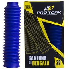 Sanfona de Bengala Pro Tork 20 Dentes DT 180 XLR 125 XTZ 125 NXR Bros 125/150 Azul