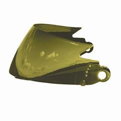 Viseira Capacete V-Pro Jet Dourada 20mm