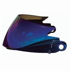 Viseira Capacete V-Pro Jet Iridium Azul 2